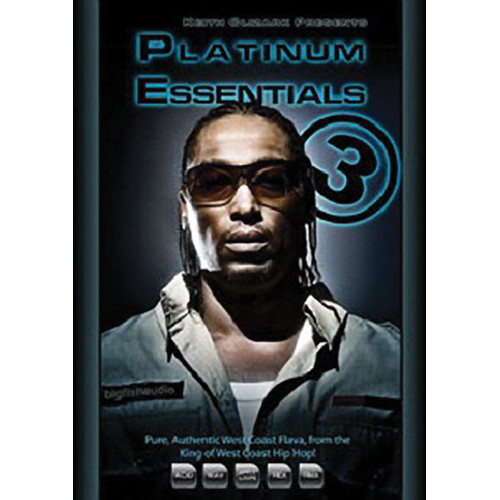 Big Fish Audio Platinum Essentials 3 DVD (Apple Loops, REX, WAV, RMX & Acid Formats)