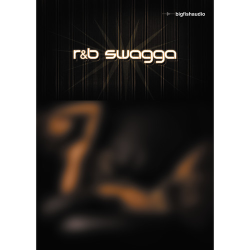 Big Fish Audio R&B Swagga DVD (Apple Loops, REX, WAV, RMX, & Acid Format)