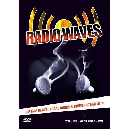 Big Fish Audio Radio Waves DVD (Apple Loops, REX, WAV, & RMX Format)