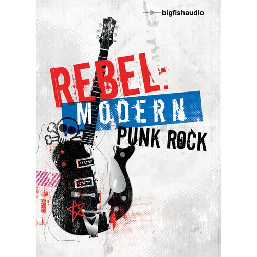 Big Fish Audio Rebel: Modern Punk Rock DVD (Apple Loops, REX, WAV, RMX, Acid Format)