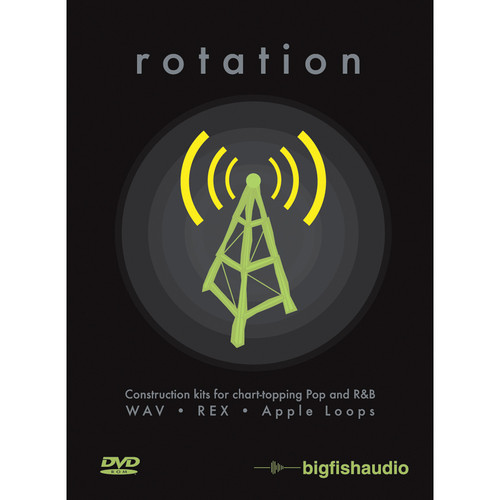 Big Fish Audio Rotation DVD (Apple Loops, REX, & WAV Formats)