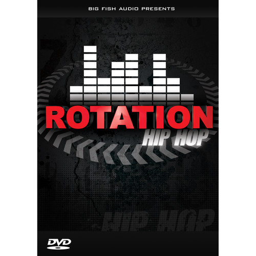 Big Fish Audio Rotation Hip Hop DVD (Apple Loops, REX, WAV, RMX, & Acid Formats)