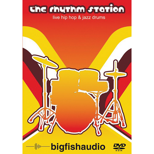 Big Fish Audio The Rhythm Station DVD (Apple Loops, REX, & WAV Formats)