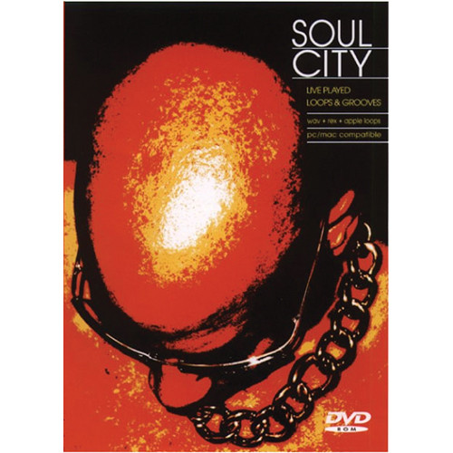 Big Fish Audio Soul City DVD (Apple Loops, REX, WAV, & RMX Formats)