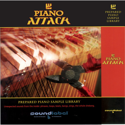Big Fish Audio Piano Attack DVD (Apple Loop Format)