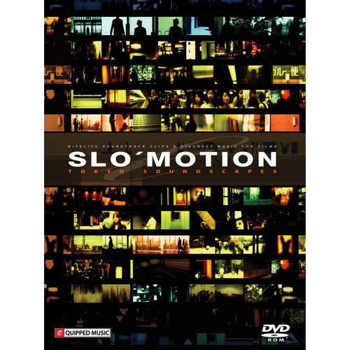 Big Fish Audio Slo' Motion: Tokyo Soundscapes DVD (REX/Refill/WAV Format)