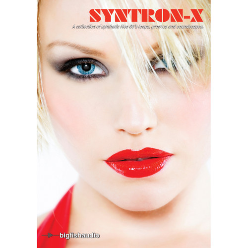 Big Fish Audio Syntron-X DVD (Apple Loops, REX, WAV, & RMX Formats)
