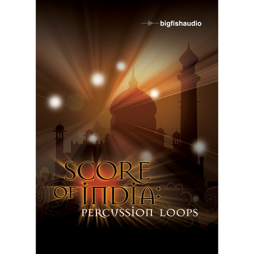 Big Fish Audio Score of India: Percussion Loops DVD