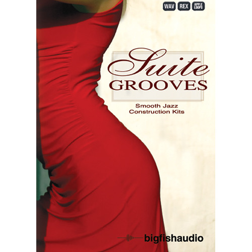 Big Fish Audio Suite Grooves DVD (Apple Loops, REX, WAV, & RMX Formats)