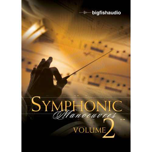 Big Fish Audio Symphonic Manoeuvres Vol. 2 DVD (Apple Loops, WAV, & Acid Formats)