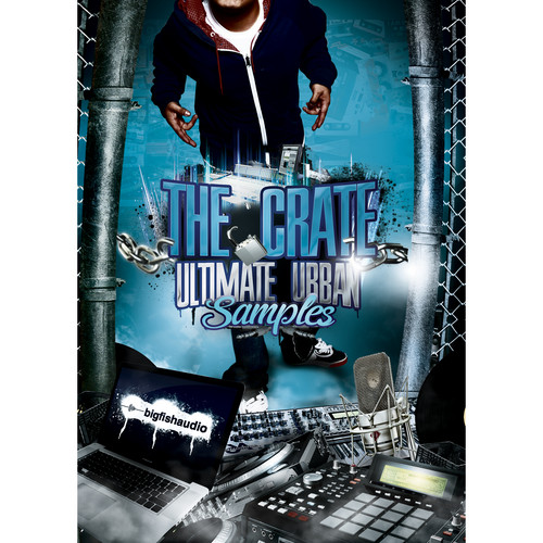 Big Fish Audio Crate: Ultimate Urban Samples DVD (24-Bit, 16-Bit, & WAV Formats)