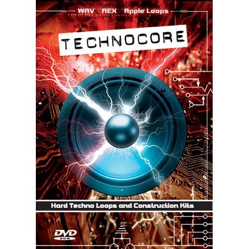 Big Fish Audio Technocore DVD (Apple Loops, REX, WAV, & RMX Formats)
