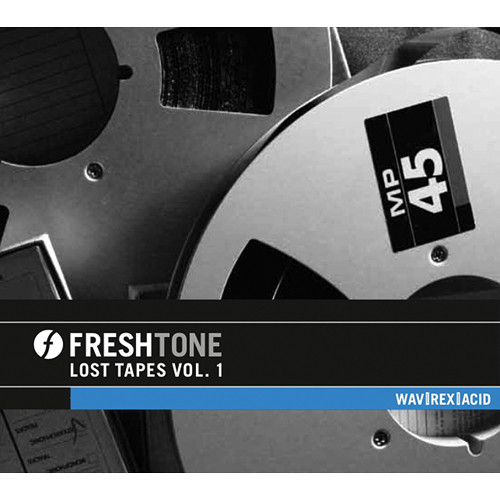 Big Fish Audio Lost Tapes Vol. 1 DVD (REX, WAV, & Acid Formats)