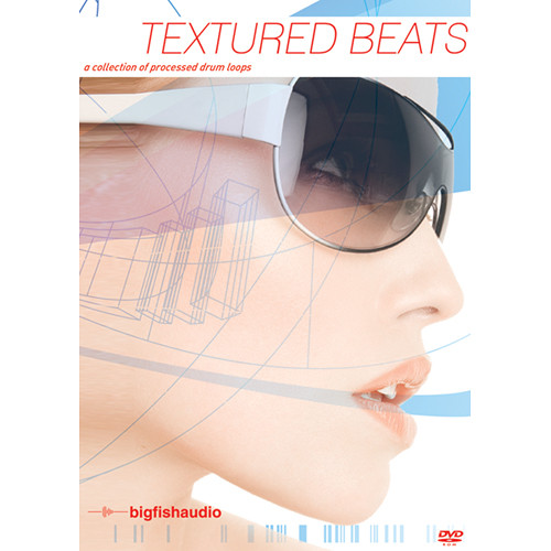 Big Fish Audio Textured Beats DVD (Apple Loops, REX, WAV, & RMX Formats)