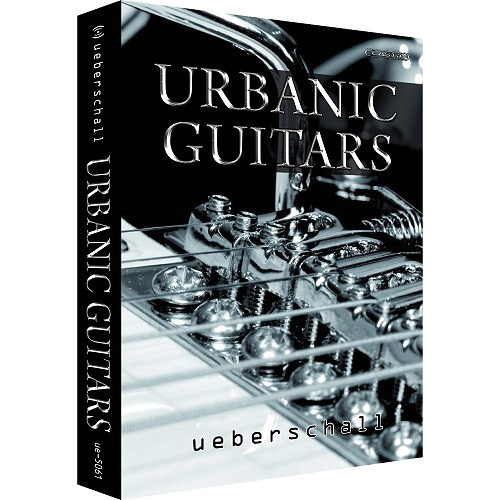Big Fish Audio DVD: Urbanic Guitars