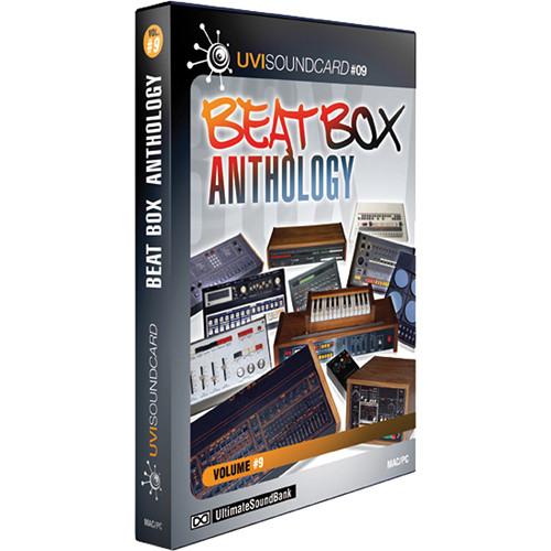Big Fish Audio Beat Box Anthology DVD (Plug-In & UVI Formats)