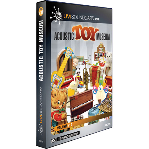 Big Fish Audio Acoustic Toy Museum DVD (Plug-In & UVI Formats)