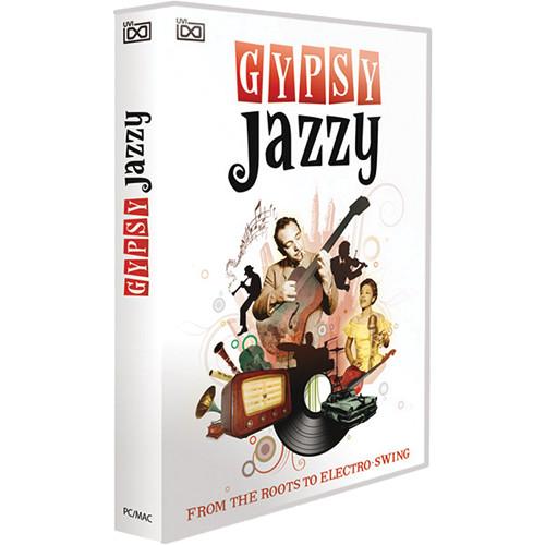 Big Fish Audio Gypsy Jazzy DVD (Plug-In & UVI Formats)