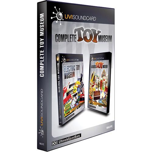 Big Fish Audio Complete Toy Museum DVD (UVI Format)