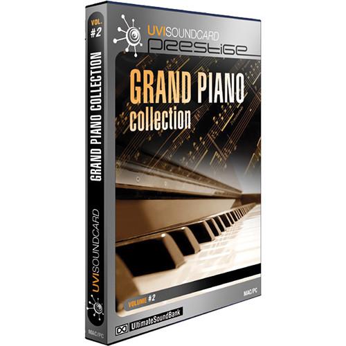 Big Fish Audio Grand Piano Collection DVD (Plug-in/UVI)