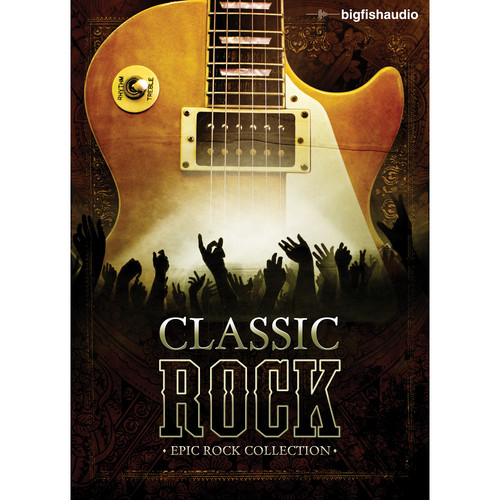 Big Fish Audio Classic Rock DVD (Apple Loops, REX, WAV, RMX, & Acid Formats)