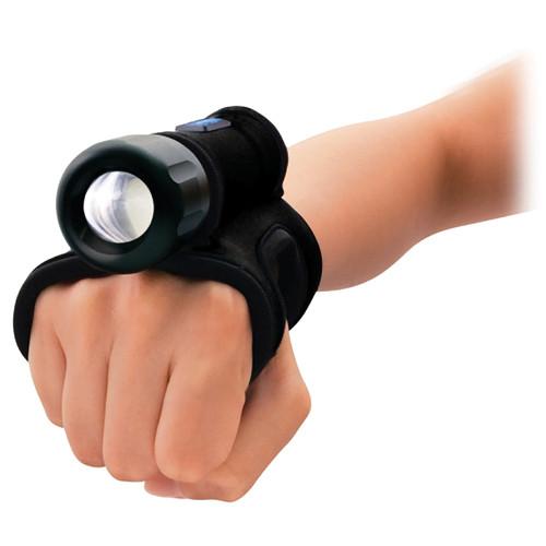 Bigblue AL-1x5W LED Back Up Dive Light (Black, Goodman-glove)