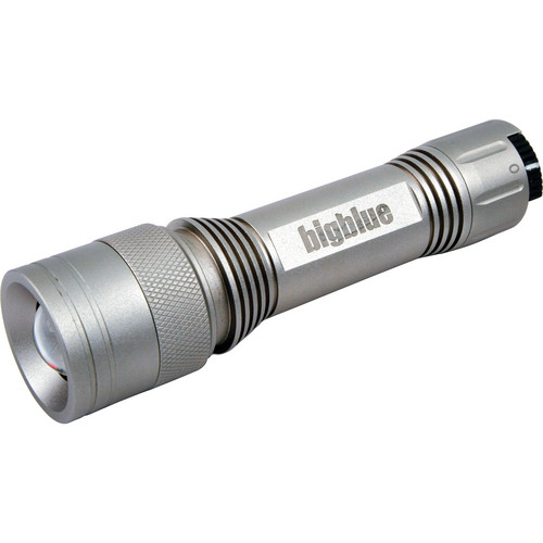 Bigblue CF-250 Focusable LED Dive Light (Silver)