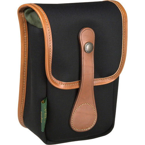 Billingham AVEA 5 Pouch (Black Canvas & Tan Leather Trim)