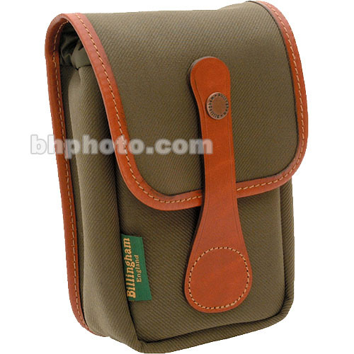 Billingham AVEA 5 Pouch (Sage FibreNyte & Tan Leather Trim)