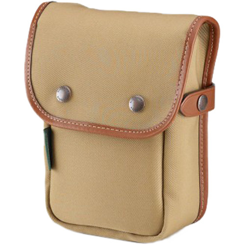 Billingham Delta End Pocket (Khaki with Tan Trim, Canvas)
