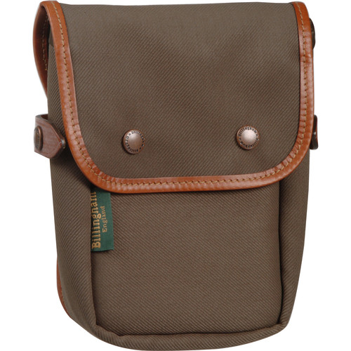 Billingham Delta End Pocket (Sage with Tan Leather Trim)