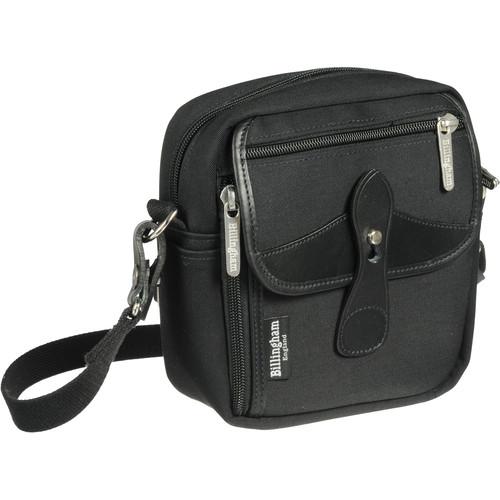 Billingham Stowaway Pola Shoulder Bag (Black/Black Leather)