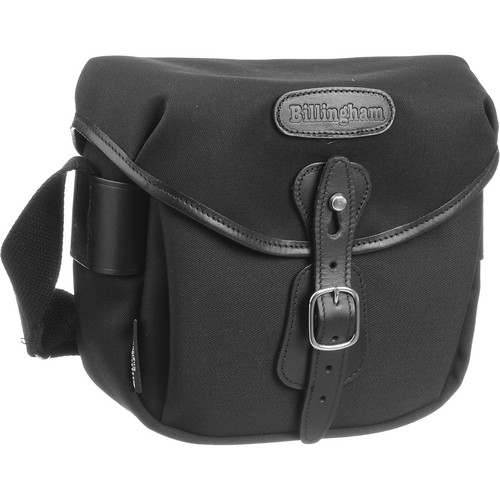 Billingham Digital Hadley Bag (Black with Black Leather Trim)