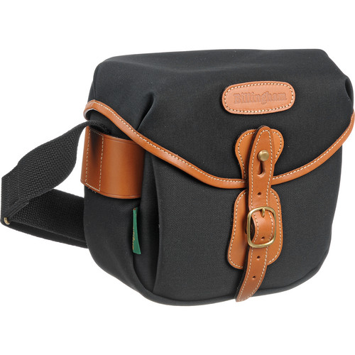 Billingham Digital Hadley Bag (Black with Tan Leather Trim)