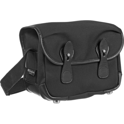 Billingham L2 Bag (Black with Black Leather Trim)