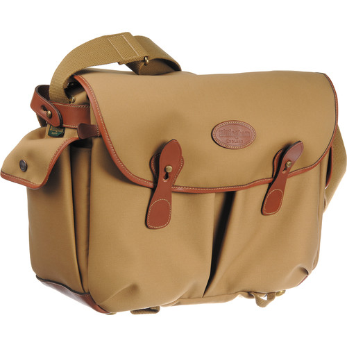 Billingham Packington Shoulder Bag (Tan with Tan Leather Trim)