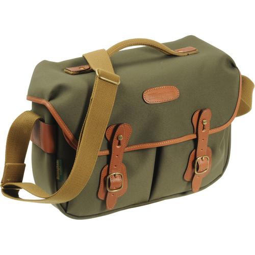 Billingham Hadley ProShoulder Bag (Sage FibreNyte & Tan Leather)