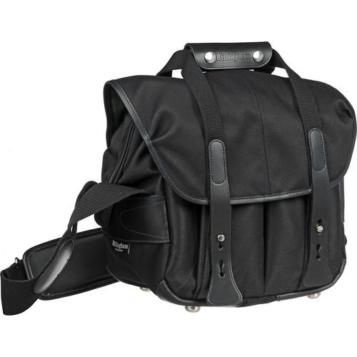 Billingham 107 Camera Bag (Black FibreNyte & Leather)