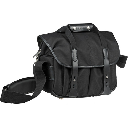 Billingham 207 Camera Bag (Black FibreNyte & Leather)