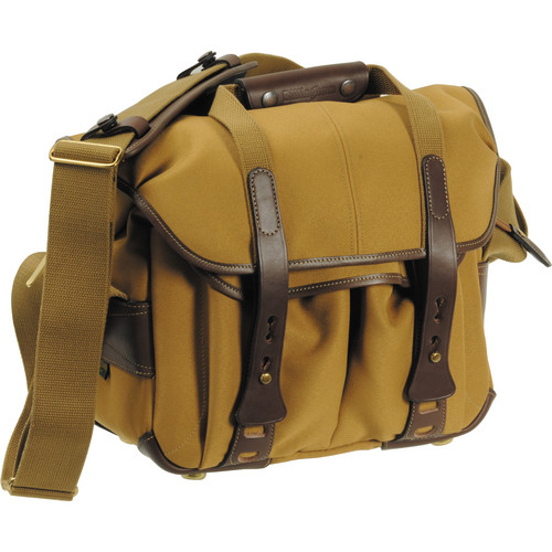 Billingham 207 Camera Bag (Khaki with Chocolate Leather)