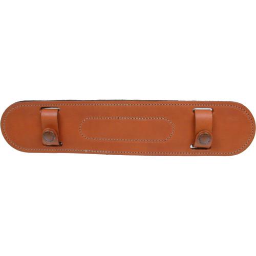 """Billingham SP15 Leather Shoulder Pad for 1.5"""" Wide Shoulder Straps (Tan)"""