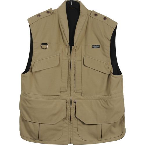 Billingham Large Photo Vest (Stone)