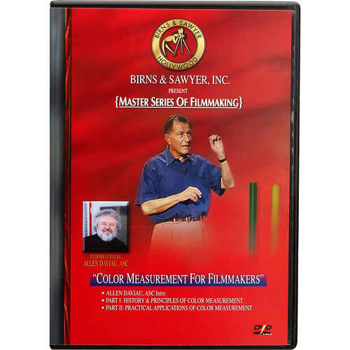 Birns & Sawyer DVD: Color Measurement for Filmmakers