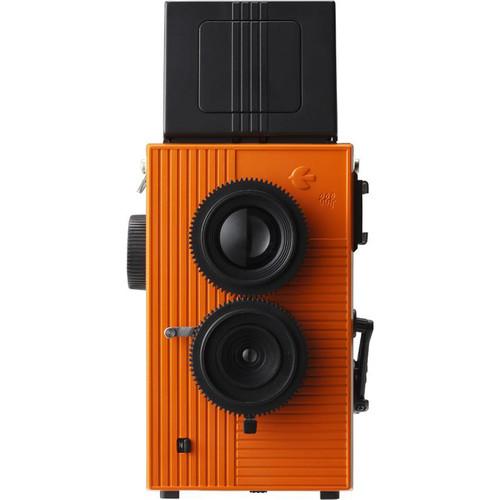 Blackbird Blackbird, Fly 35mm Twin-Lens Reflex (TLR) Camera (Black & Orange)