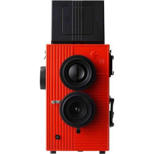 Blackbird, Fly 35mm Twin-Lens Reflex (TLR) Camera (Red)