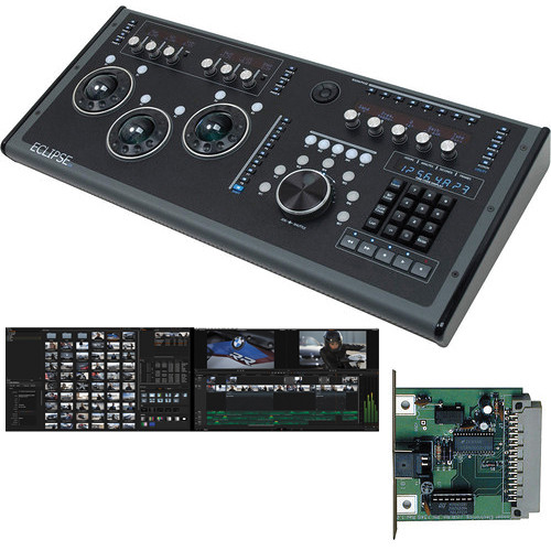 Blackmagic Design DaVinci Resolve w/ JLCooper Eclipse CX Midnight Control Surface Kit