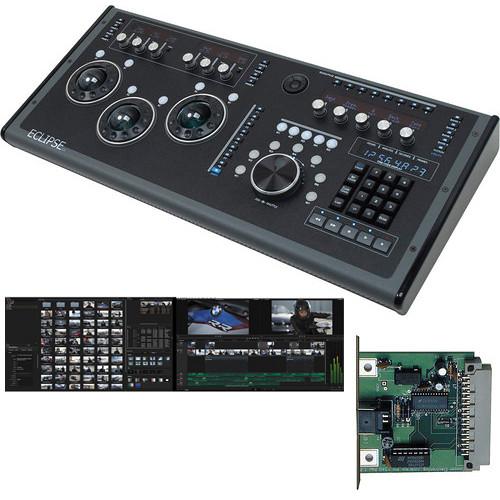 Blackmagic Design DaVinci Resolve w/ JLCooper Eclipse CX Midnight Control Surface Kit