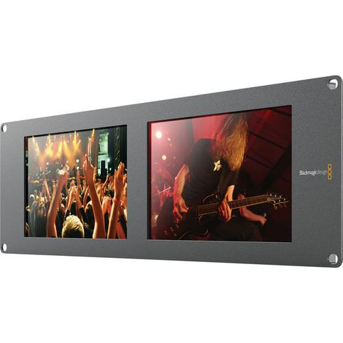 "Blackmagic Design SmartView Duo Rackmountable Dual 8"" LCD Monitors"