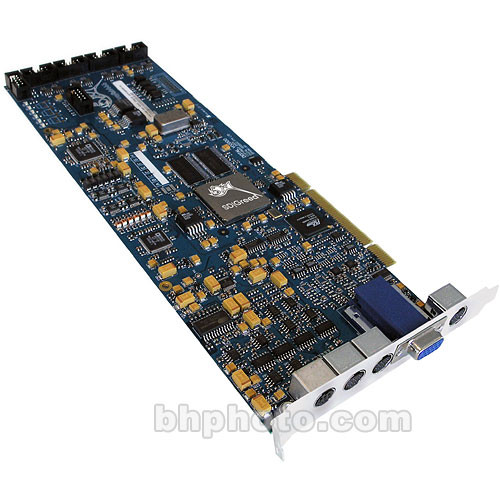 BlueFish444 SD|Greed 12/10-Bit SDI and 12-Bit Analog PCI Video Capture Card