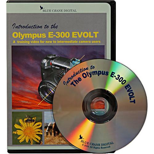 Blue Crane Digital DVD: Training DVD for Olympus E300 Digital Camera